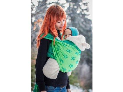 Forest Berry - šátek na nošení dětí