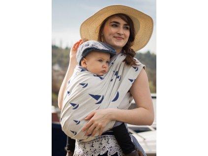 Navis Ahoy - šátek na nošení dětí