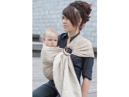 Ring Sling Bird Garden Latte