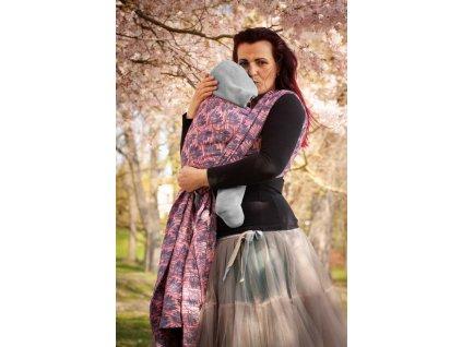 Rhododendrons Phoenix - šátek na nošení dětí